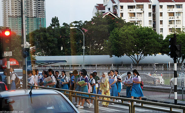 Penang school girls after school