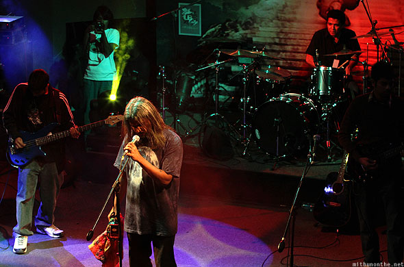 Rajeev Wolfpack group Led Zepplica Bangalore concert