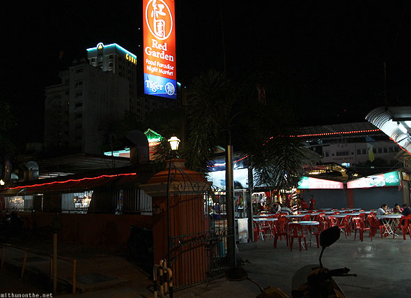 Red Garden food court back entrance