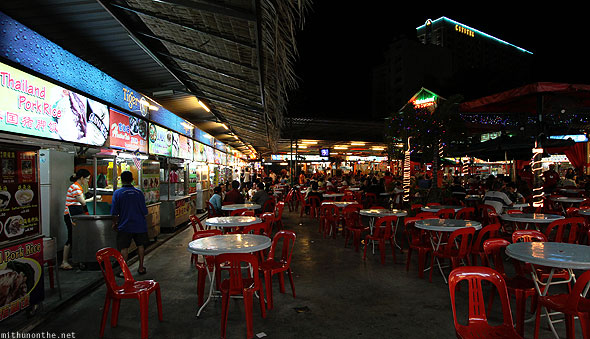 Red Garden food court vendors Penang