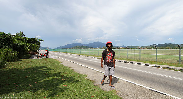 Stopping at Langkawi airfield