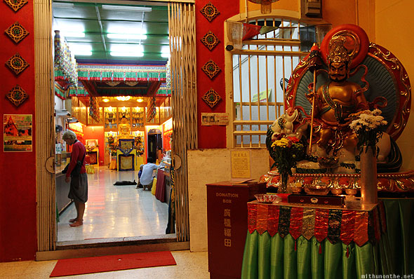 Tibet Gelugpa Buddhist Association temple Georgetown Penang
