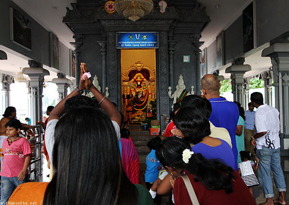 Batu caves Sri Venkatachalapathi temple devotees