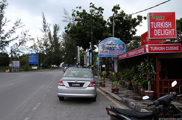 Chiew Turkish restaurant Pantai Tengah beach