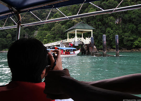 Langkawi Dayang Bunting Marble geoforest park arrival