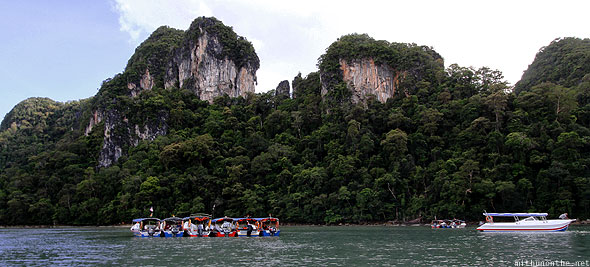 Langkawi Dayang Bunting Marble Geoforest park boats