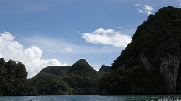 Langkawi geoforest islands
