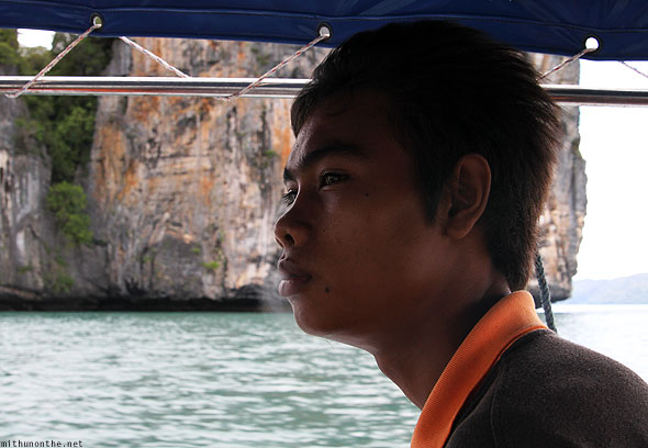 Langkawi island hopping tour guide smoking