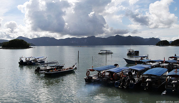 Langkawi island hopping tour private speedboats
