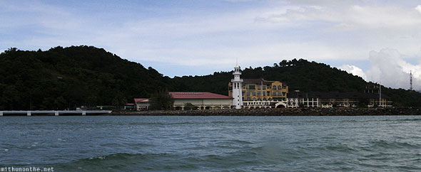 Langkawi island lighthouse pier