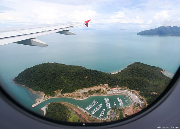 Langkawi islands from Air Asia flight