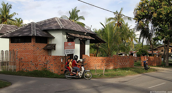 Langkawi Malaysia village life moped family