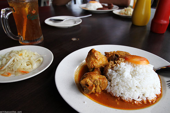Langkawi Malaysian chicken curry rice