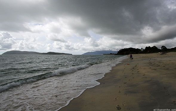 Langkawi Pantai Tengah beach grey skies