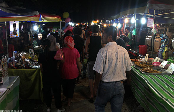 Langkawi weekend market stalls