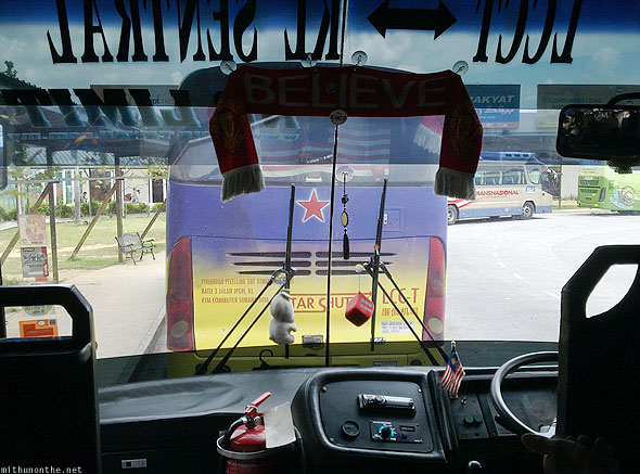 KL LCCT to KL Sentral bus Manchester United believe
