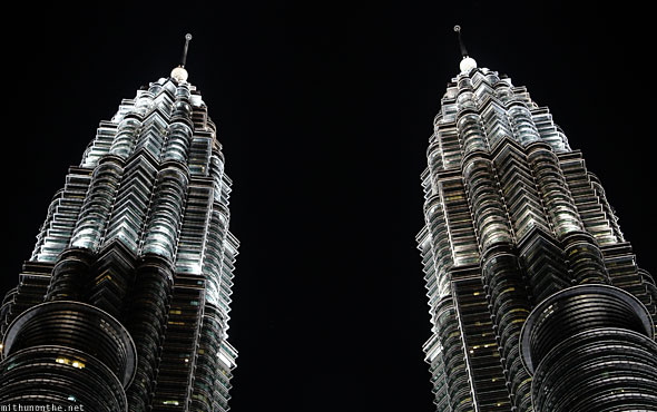 Petronas Twin Towers top floors