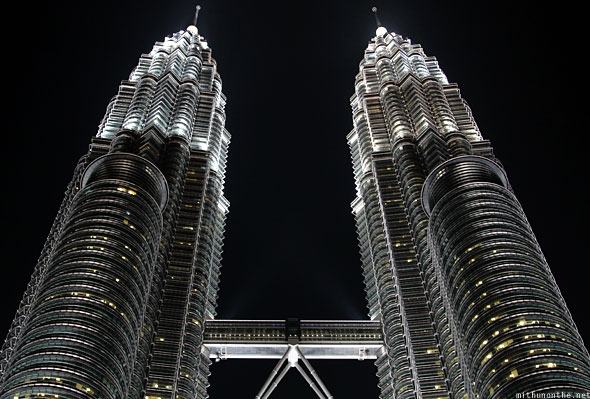 Petronas Twin Towers top half