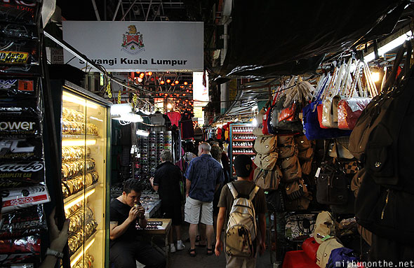 KL Petaling Street shopping handbags