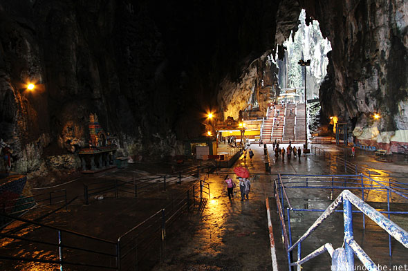 Batu Caves inside main cave area