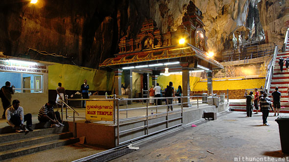 Batu Caves inside main temple Swami Sannathi