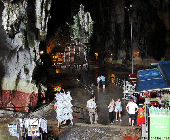 Batu Caves inside view