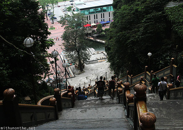 Batu Caves steps down