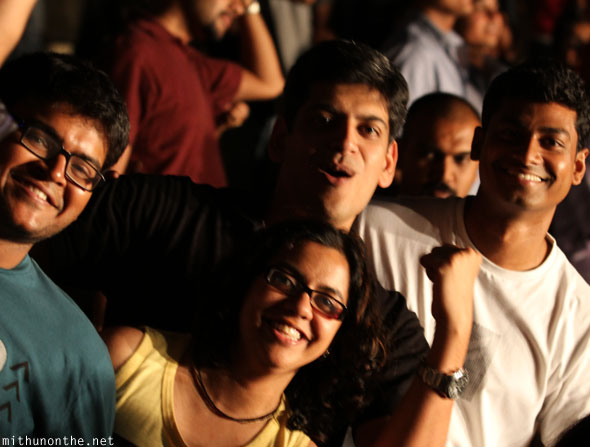 Coldplayer concert crowd Nithin Divakaran