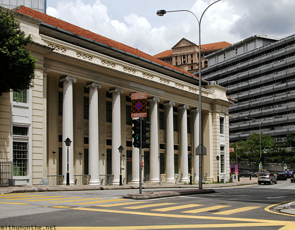Colonial Government building Kuala Lumpur