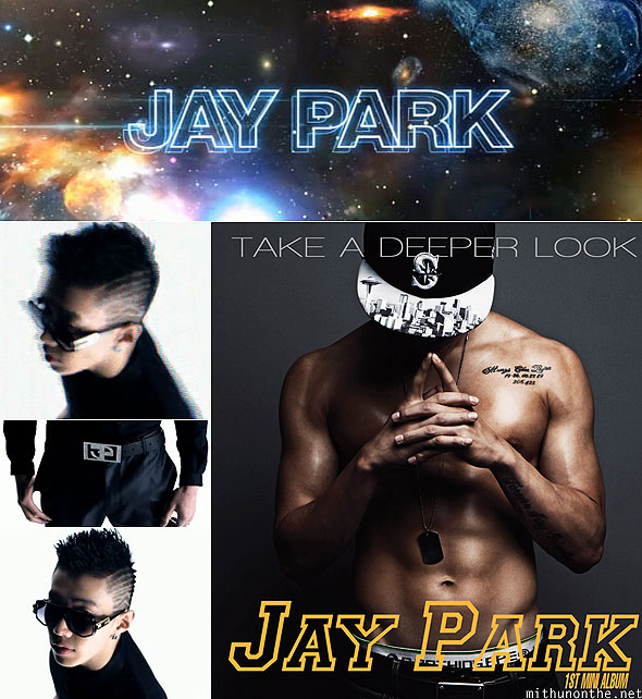Jay Park Take A Deeper Look album cover Abandoned single