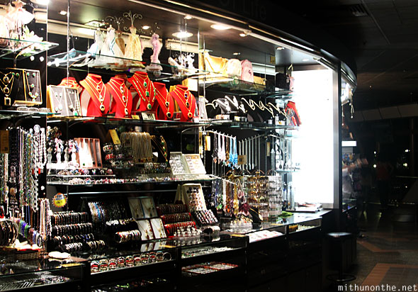 Menara KL tower observation deck jewelry shop