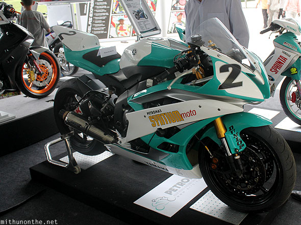 Yamaha Petronas superbike display KLCC