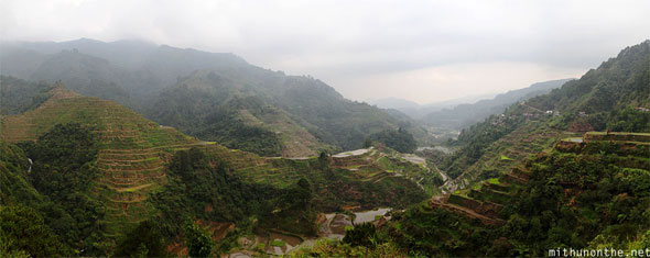 Banaue rice terraces panorama Philippines