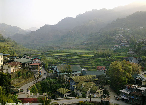Banaue view from People's Lodge Philippines