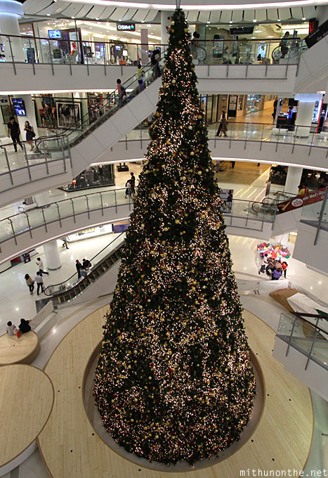Centralworld mall Christmas tree Bangkok