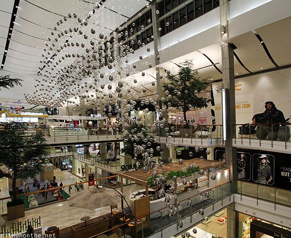 Centralworld mall interior decor Bangkok Thailand