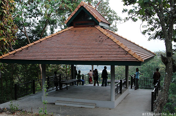 Chiang Mai Doi Suthep national park observation deck