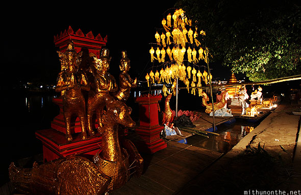 Chiang Mai Loy Krathong floats designs