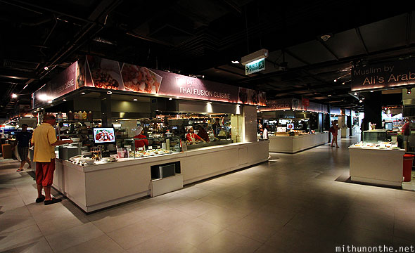 Fifth Food Avenue food court MBK mall Bangkok