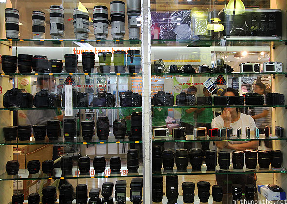 Fotofile MBK used lenses store Bangkok