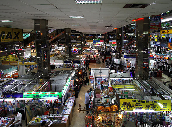 Pantip Plaza ground floor stores