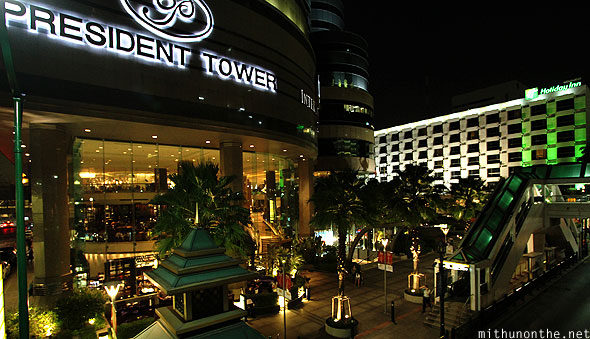 President Tower Holiday Inn hotel Bangkok