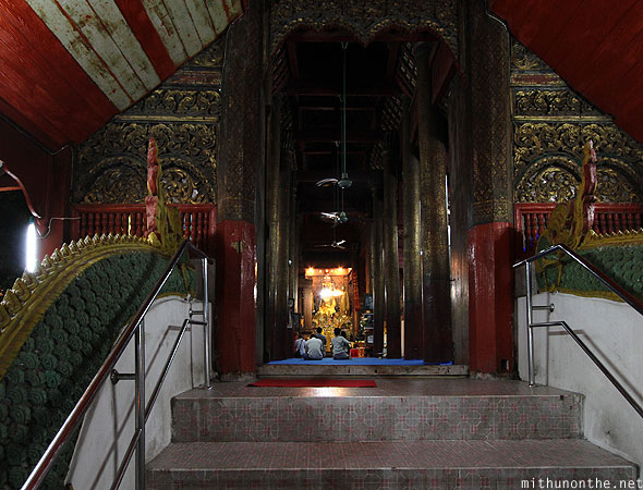 Wat Chiang Mai worship praying Thailand