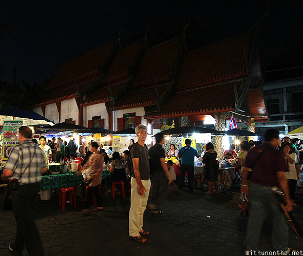 Wat temple Chiang Mai Anthony Bourdain Yi Peng