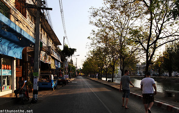Chiang Mai afternoon road