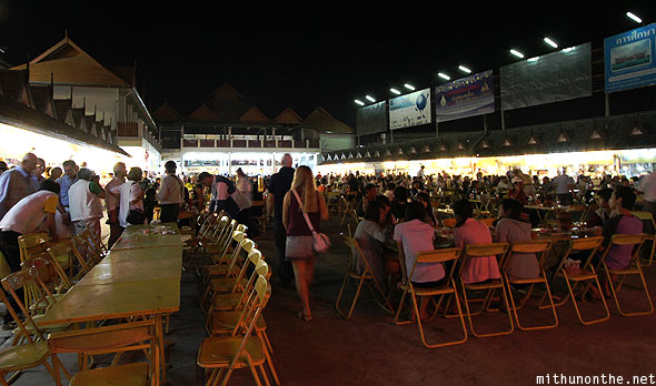 Chiang Rai night bazaar food court