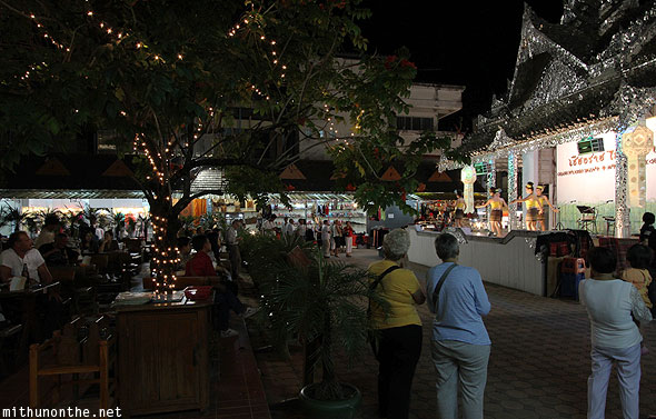 Chiang Rai night restaurants tourists