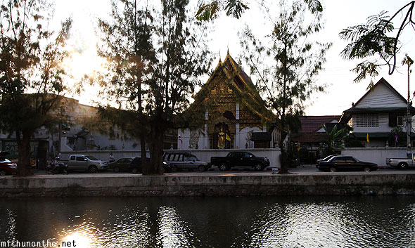 Chiang Mai afternoon Wat canal
