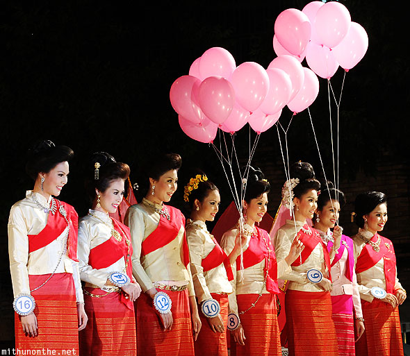 Chiang Mai Loy Krathong beauty contest