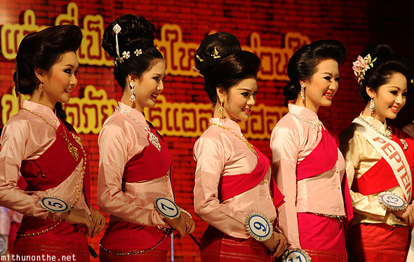 Chiang Mai Miss Loy Krathong beauty contest women